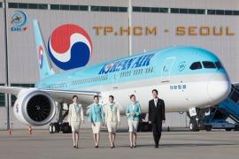 KOREAN AIR KHAI THÁC BAY TRỞ LẠI HÀNH TRÌNH: SAIGON - INCHEON